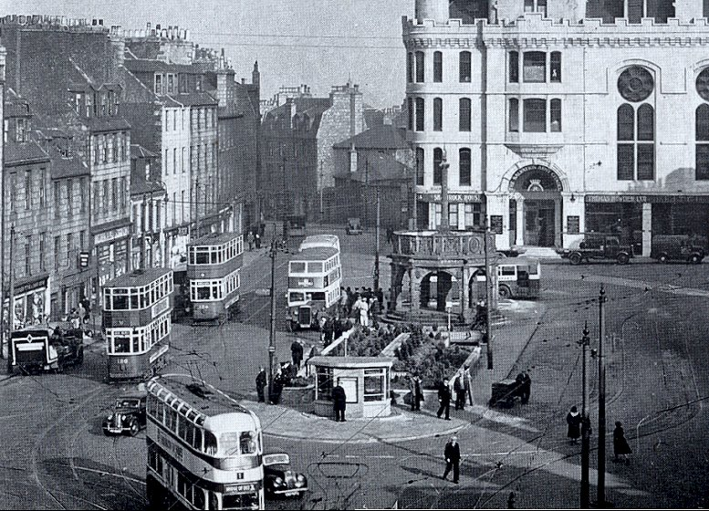 Image result for ABERDEEN CITY CENTRE 1940