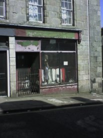 Marischal St. Shop Closed