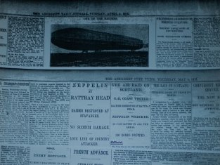 1916 news zeppelin raiders