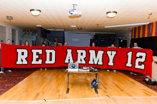 Red Army 12 with RA12 banner