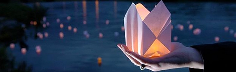 Paper Lantern To Commemorate Hiroshima Day
