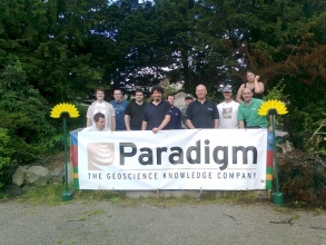 Paradigm Workers Lend A hand