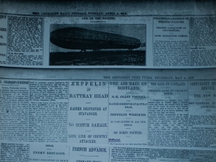 1916 news zeppelin raiders