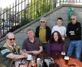 Aberdeen Voice Members Enjoying 'The Sun' 2