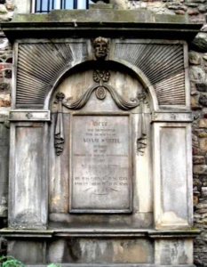 The Tomb Of Adam Smith, Canongate, Edinburgh