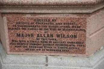 Major Wilson Memorial Plaque