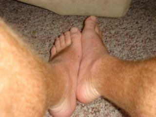 mans-feet