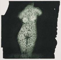 PVA. Ralph Steadman Aphrodite intaglio print 1995