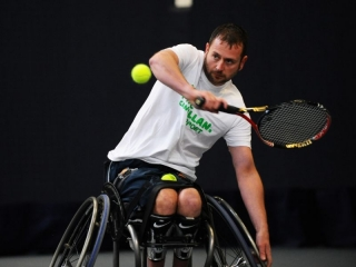 Scotland's GB Paralympic Hopeful Kevin Simpson