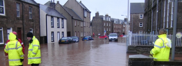 Stonehaven Flood Dec 2012