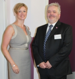 VSA sponsor Carole Innes, and Kenneth Simpson, chief executive of VSA (2)