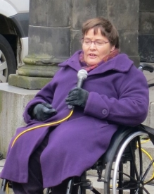 Anne Begg Addresses May Day Rally By J. Aberdein