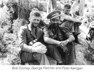 Bob Cooney, George Fletcher and Peter Kerrigan