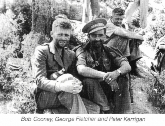 Bob Cooney, George Fletcher and Peter Kerrigan