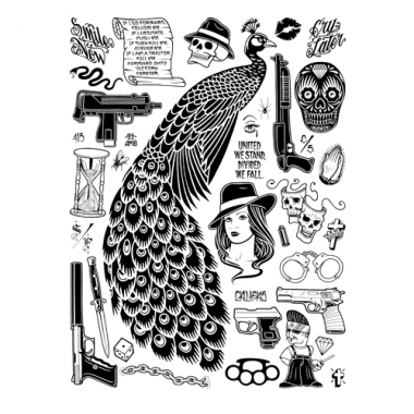 bw-mike-giant-peacock-poster-screenprint