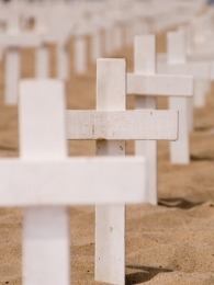 ROW OF CROSSES