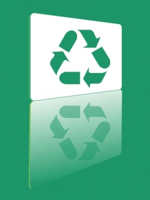 VECTOR RECYCLE SYMBOL