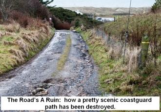 Ruined road