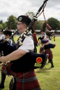 Turriff Show 2013 Pipe Band