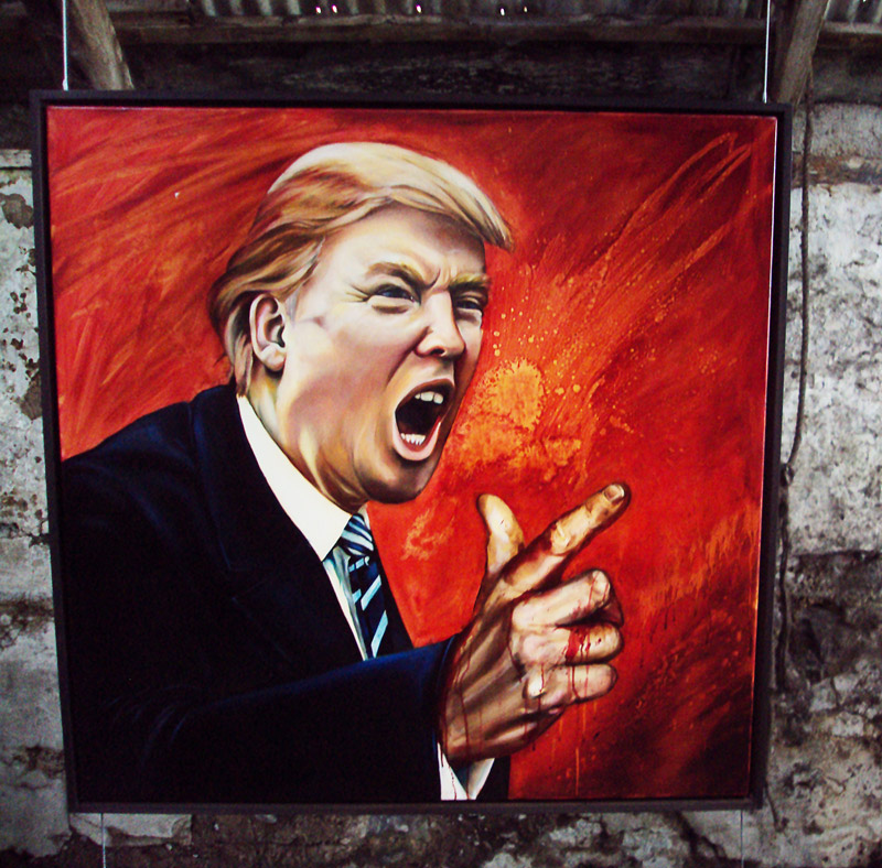 Painting of Donald Trump