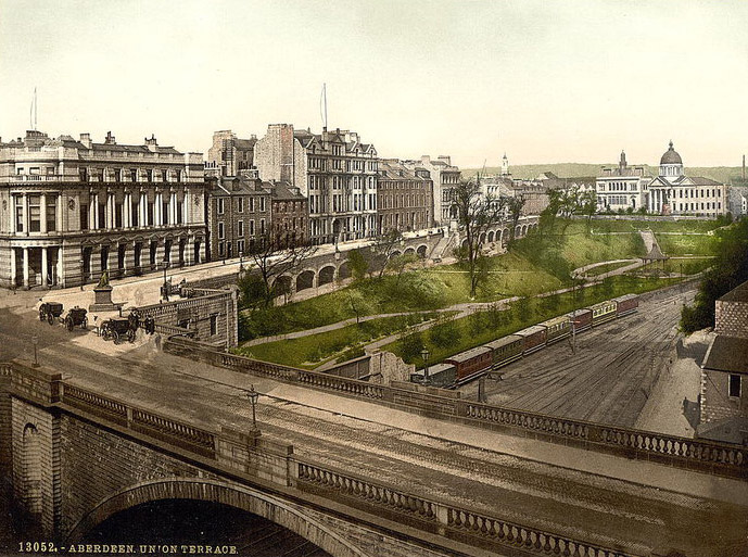 Archive image of Union Terrace Gardens