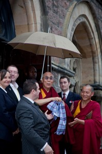 The Dalai Llama In Inverness.
