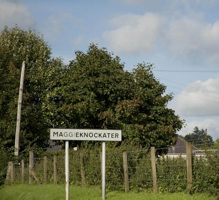 Roadsign Maggieknockater - Credit: Duncan Harley