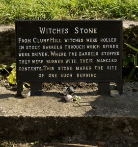 Witch Stone Forres - Credit: Duncan Harley