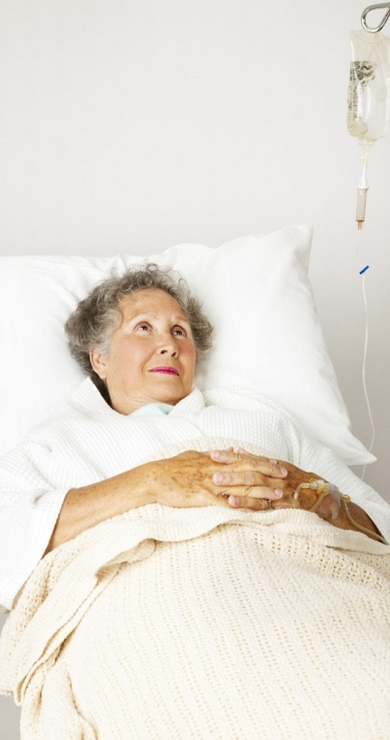 Woman In Hospital Bed2