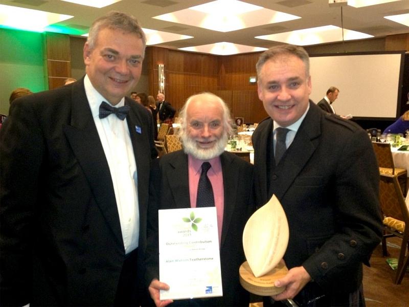 Alan Featherstone Watson TFL 176 award