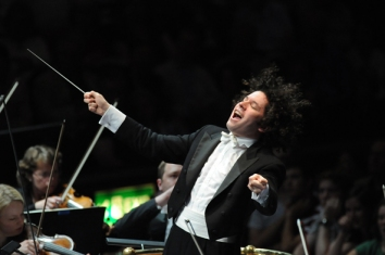Gustavo Dudamel - pic by Chris Christodoulou