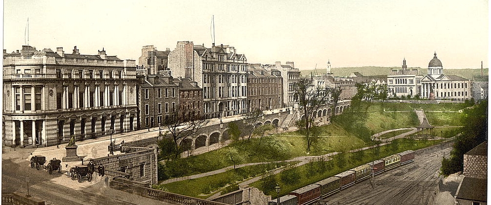 Union Bridge & Terrace 1900 flat
