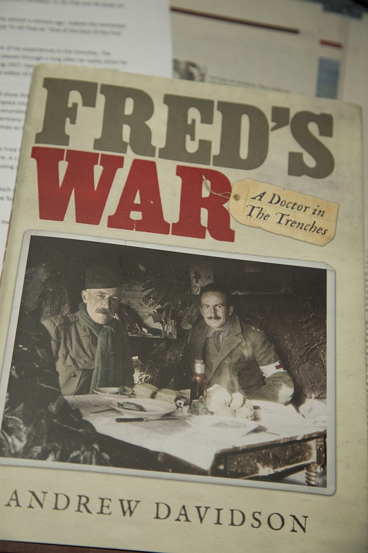 fred's war cover duncan harley
