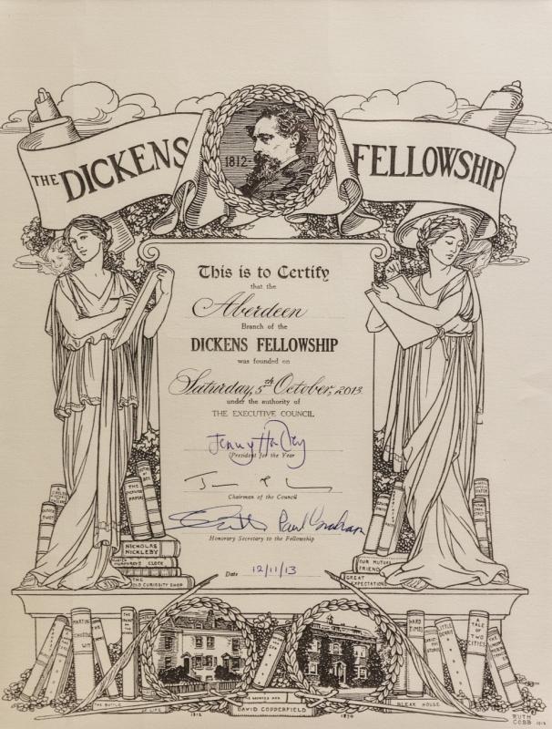Dickens cert Dec13 - Credit: Julie Thompson