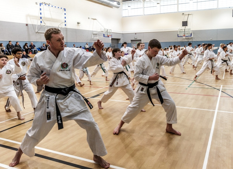 Karate Training 181 - Credit: Julie Thompson