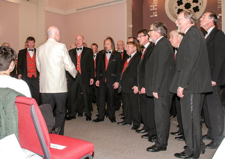 Granite City Chorus With City Brass Nov13