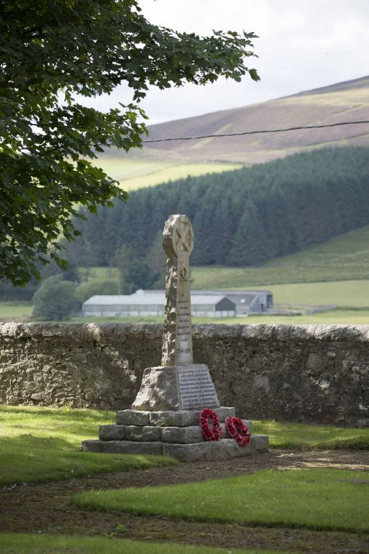 Glenrinnes War Memorial duncan harley