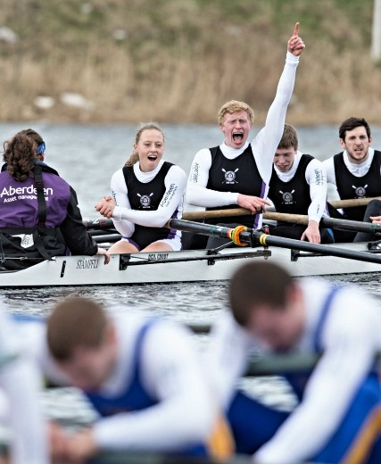 Hat Trick for Robert Gordon University at Universities' Boat Race