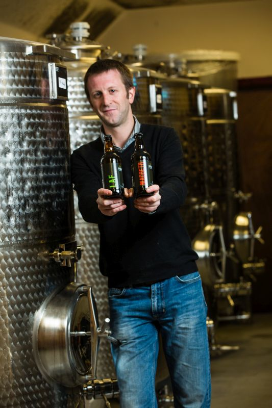 Neil Stirton, sales manager at Deeside Brewery