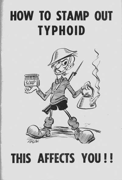 Public Service Poster Typhoid Aberdeen