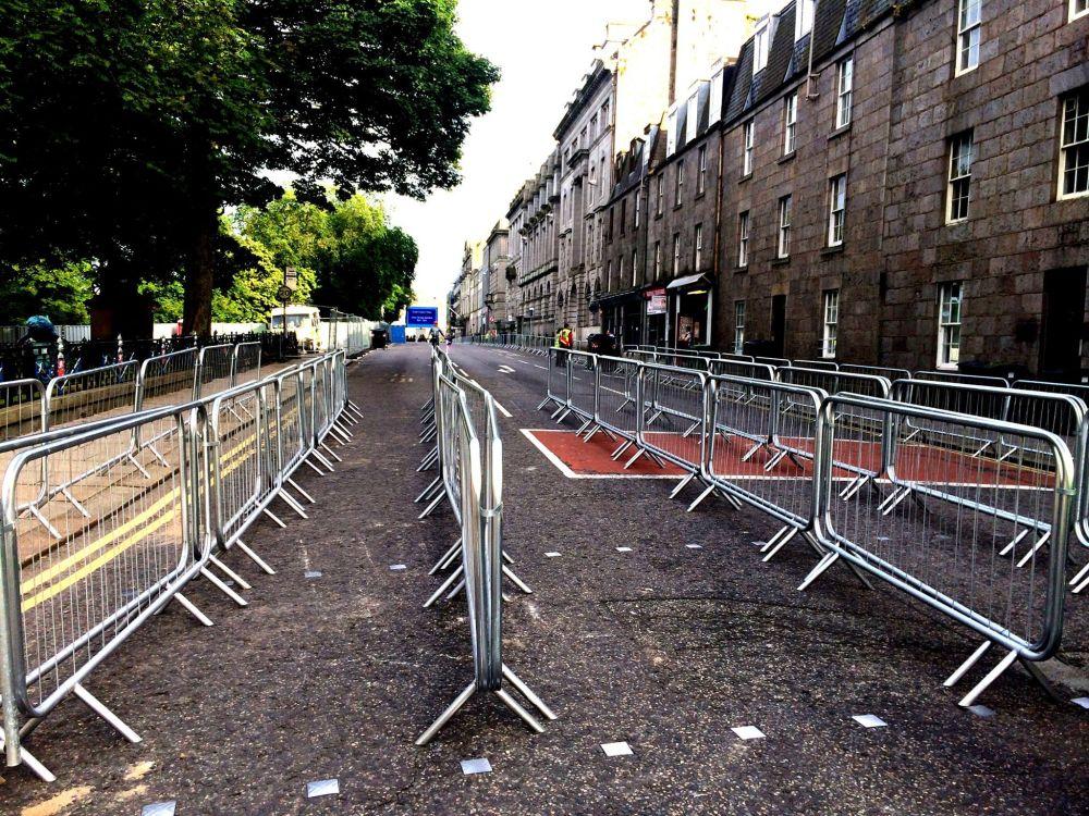 UTG security railings