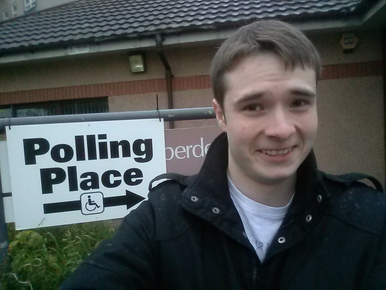 Struan King - European Elections Polling Station