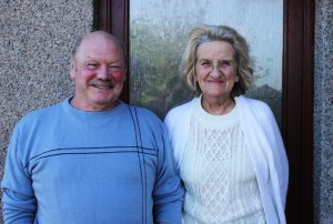 Sheila and Michael Forbes no access to sea no reliable water no help coming