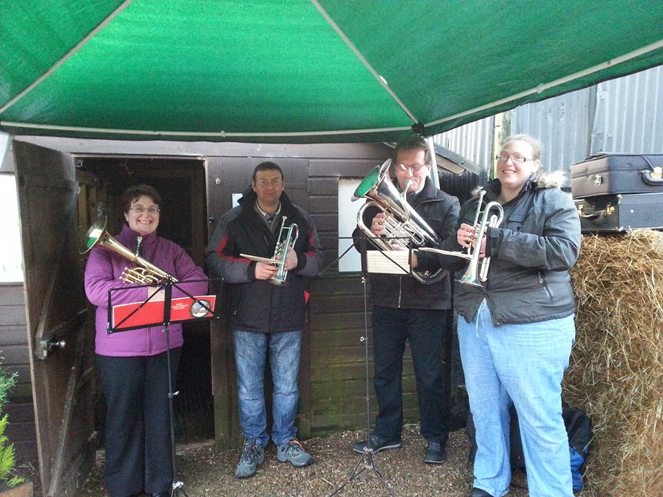brass band at Willows by deborah cowan