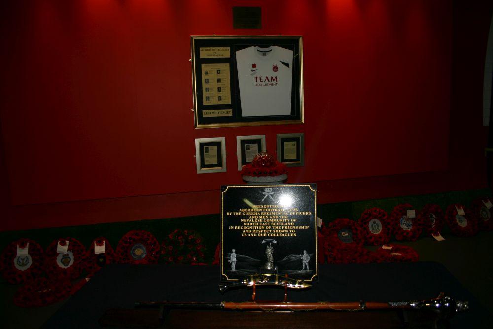 gurkha plaque