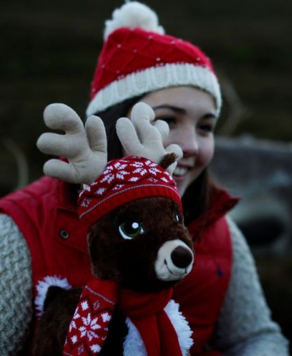 Miles The Bear Spoofed By Reindeer In New Ad