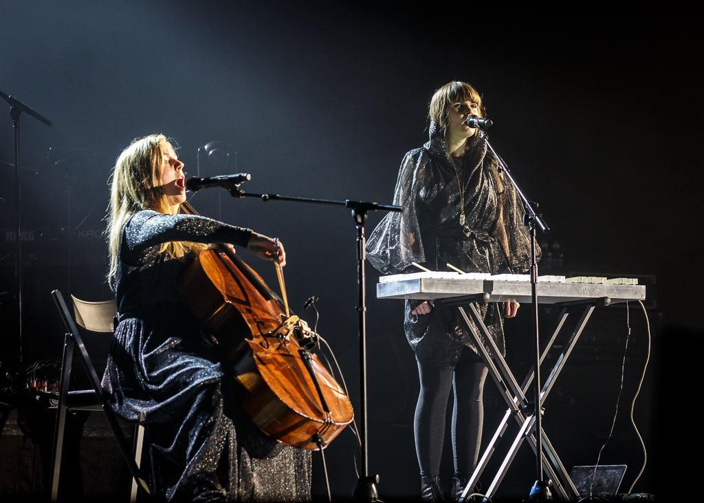 Jennie Abrahamson and Linnea Olsson by Julie Thompson