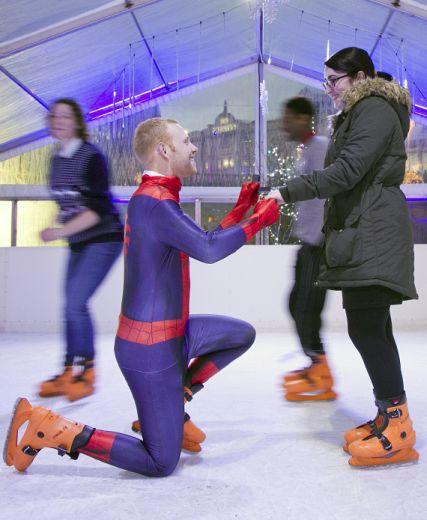 Romance In The Air This Christmas At Aberdeen Ice Rink