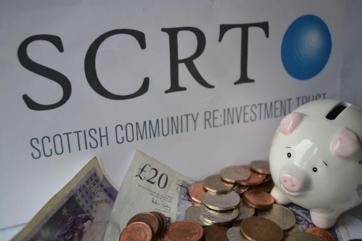 SCRT piggybank money