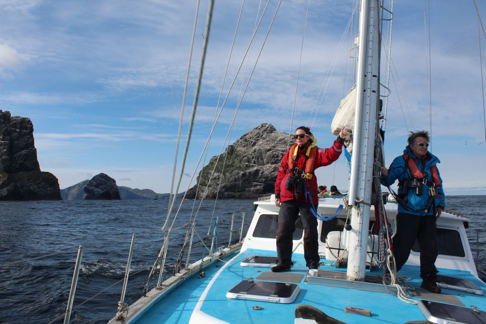 (small) Sailing by St Kilda- Kerry Froud HWDT